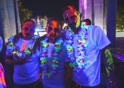 UV Glow Party at Sunny Beach Bulgaria