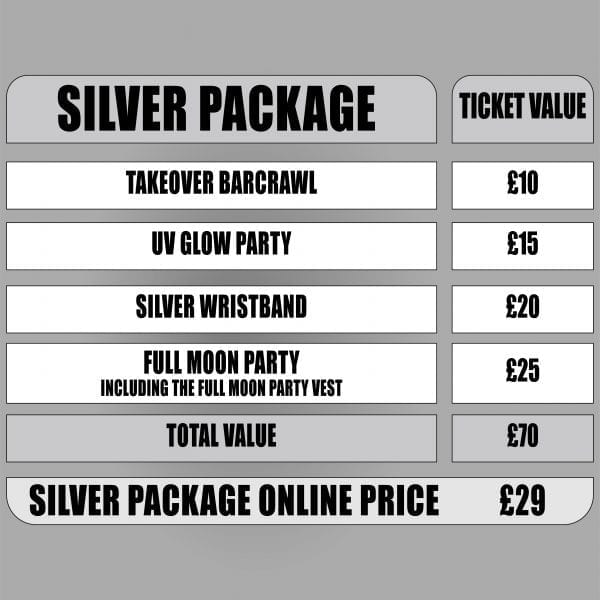 Sunnybeach takeover silver package